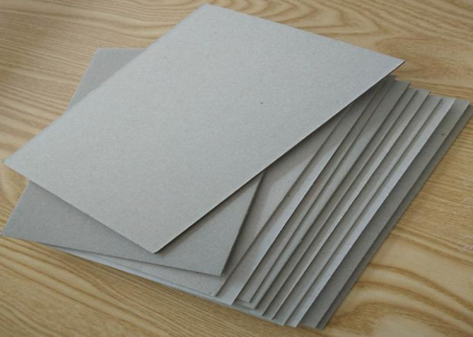 Compressed 2mm Double and Full Grey Cardboard Sheets Thick Reycled Paper