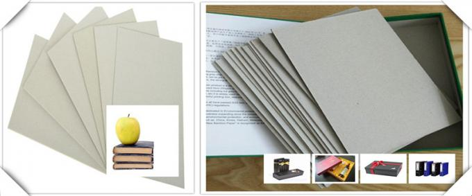 Customized size Grade AA Full Grey Chipboard for making photo album