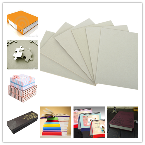 Solid Laminated Grey Board Paper for arch file / hard book cover / boxes