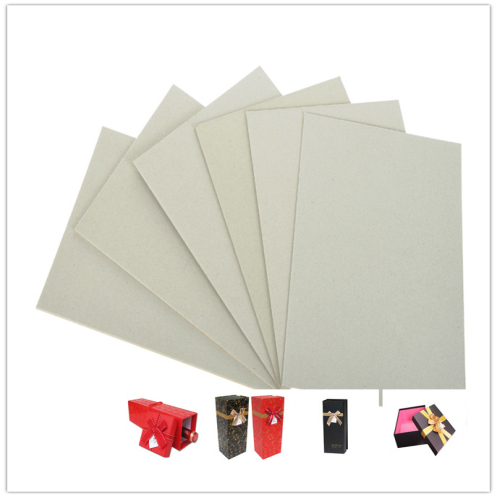 Recycled / Waste Paper Pulp Laminated Gray Board For Box 1600gsm 2.51mm