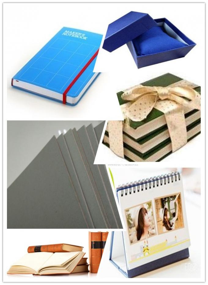 1250gsm Un-coated Grey Paperboard for printing industry / arch file / bookcover / boxes / desk calendar