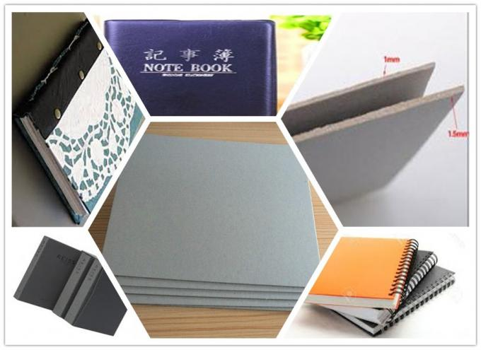Stocklot Matte Paper 1.5mm Grey Sheet Cardboard Book Boards For Binding