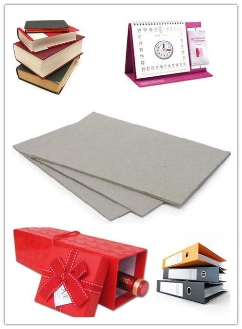 Box 620gsm Packaging Material Un-coated Double Sided Grey Cardboard Sheets