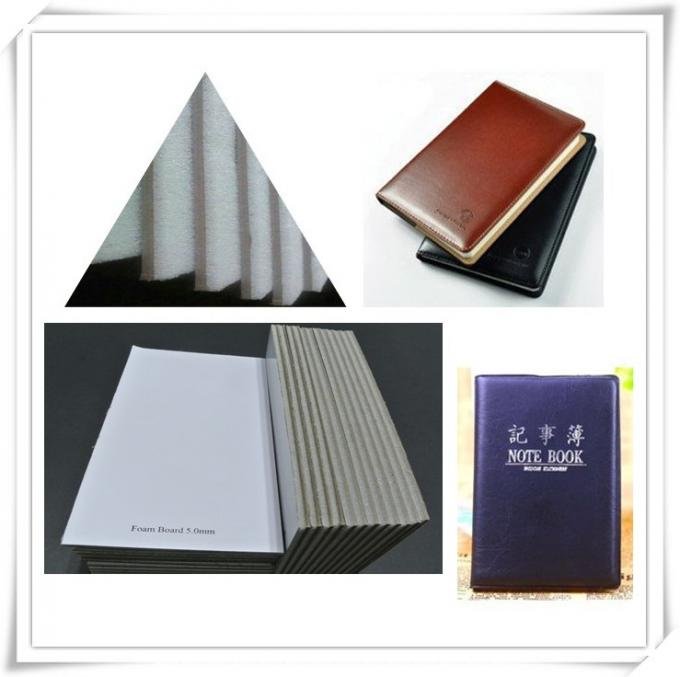 Solid Paper / Notebook Cover Laminated Grey Board 5.0mm Grey Board with Foam Board