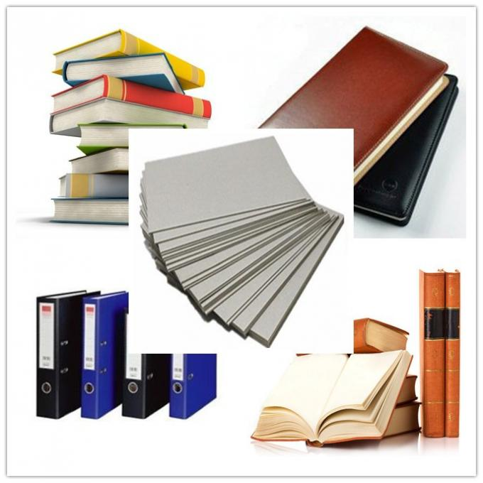 Uncoated Laminated Grey Board Paper Bookbinding For Book Cover Moisture Proof