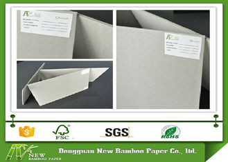 China High Standard Stiffness Degradable Grey Board Paper , Thick 2.21mm supplier