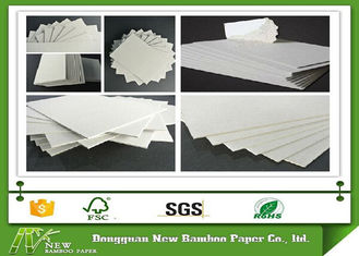 China Thickness 1.28mm Grey board for printing industry / education / exercise books supplier