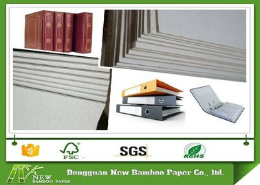 China Roll and Sheets Grey Board / Grey Chipboard for Book Cover / Arch file supplier