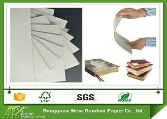 China AA Grade Durable and Folding Resistance Book Binding Cover Board Two Side Gray supplier