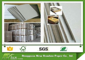 China Flat and Durable Two Side Grey Color Gray Board in Pallets Package supplier