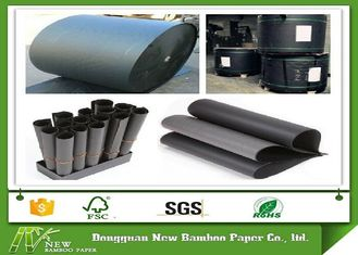 Low Grammage 110gsm-550gsm Black Cardboard / Black Paper Board in Roll