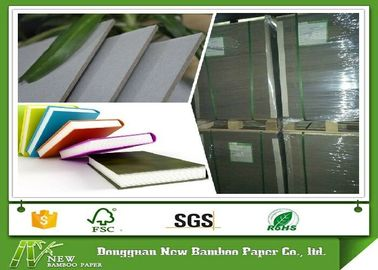 China Uncoated Laminated Grey Board Paper Bookbinding For Book Cover Moisture Proof supplier