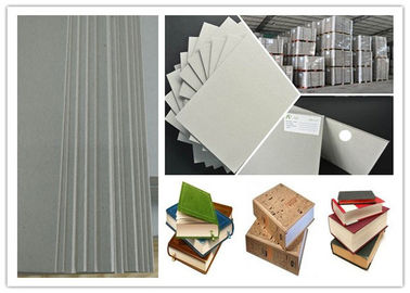 China Calendar used Environment Foldable two side Gray Chipboard for book / box supplier