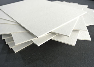 China Grade A Grey Chip Board with 100% Recycled Paper SGS Certificate Anti-Curl Cardboard Sheets supplier