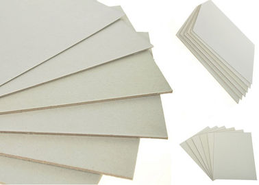 China Grade A 1250gsm / 2.04mm Grey Chip board Made by Recycled Paper supplier