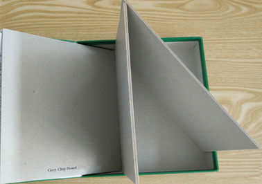China Huge Stocklot 1.5mm 900gsm Grey Chipboard High Stiffness Recycle Paper supplier