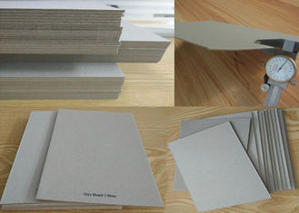 China Material Mixed Paper Pulp Book Binding Board , Uncoated Grey Board Sheets supplier