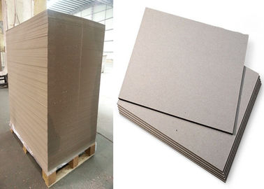 China Gray Color Strawboard Paper in 1100gsm / 1.78mm Laminated Paperboard supplier