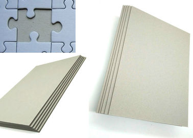 China Offset Printing Eco-Friendly Uncoated Grey Board for arch file / puzzle box supplier