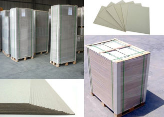 China Anti-Curl Pressed Matte Gray Paperboard 787x1092mm for furniture used supplier