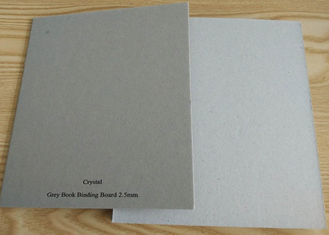 China Anti-Curl Grade AA matte Grey Book Binding Board for Book Cover supplier