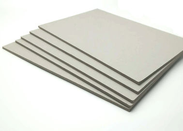 China Thick Solid 4.0mm Laminated Grey Board Paper for Book Binder / Cover supplier