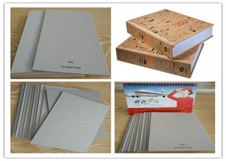 China Single layer laminated Grey Board Grade A for Arch File / Book cover supplier