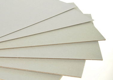 China Anti-Curl Double Side Grey Hard Board Paper for furniture / book cover supplier
