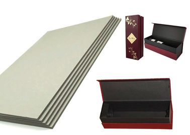 China Environment Degradable Grey Board 2mm for making gift boxes / Wine boxes supplier