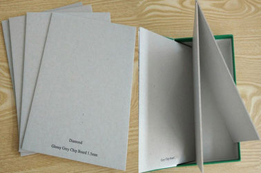 China Grade A 650GSM Grey Board Paper Grey Chip Board For Book Cover Material supplier