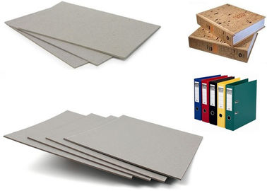 China China paper mill Grey Book Binding Board / recycled paper pulp for macking arch file supplier