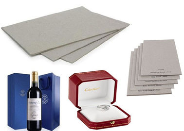 China Recycled Laminated Grey Board for Wine Box  with Strong Stiffness supplier