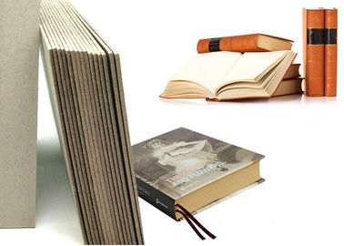 China Grey Laminated Book Binding Cover Board , 1.5mm Book Boards For Binding supplier