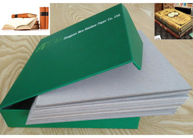 China Uncoated 2mm Grey Chipboard Book Binding Cardboard For Book Cover Material supplier