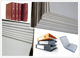 China Strong Stiffness Flat Laminated Hard Paper Grey Board Sheets Straw Board Paper supplier