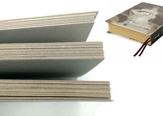 China Mixed Paper Pulp Grey Board / Grey Chipboard / Gris Carton For Book Cover supplier