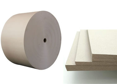 China 100% recycled Grey Paper Roll folding resistance Support customized cut supplier