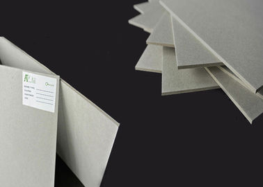 China High Stiffness Book Cover Gray Paperboard in Recycled Materials supplier