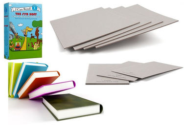 China Good Stiffness Uncoated Grey Paperboard Book Boards For Binding supplier