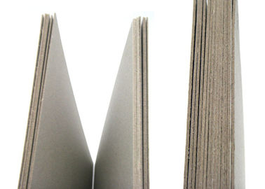 China Environmently Mixed Pulp Uncoated Grey Cardboard for book cover supplier