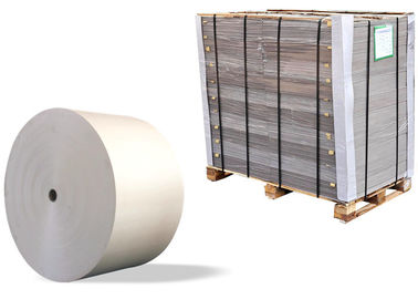 China Foldable Unbleached Strawboard Paper two side grey in rolls and sheets supplier