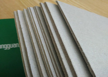 China Professional Flat Surface Carton Gris 5mm - 0.49mm Grey Paper Board supplier