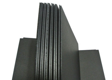 China 1mm / 1.5mm / 2mm / 3mm Thick Solid Black Paper Board For Painting Drawing Diary supplier