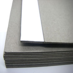 China Waste paper pulp Carton Gris grey color used for package and printing supplier