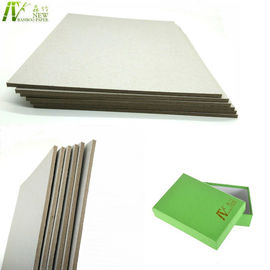 China Recycled / Waste Paper Pulp Laminated Gray Board For Box 1600gsm 2.51mm supplier