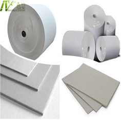 China 787x1092mm Laminated Gray Cardboard Sheets / Rolls SGS Certification supplier