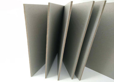 China Compressed 2mm Double and Full Grey Cardboard Sheets Thick Reycled Paper supplier