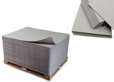 China 700x1000mm 300gsm-3000gsm Solid Laminated Grey Board Paper Sheet supplier