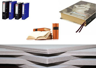 China Solid Laminated Grey Board Paper for arch file / hard book cover / boxes supplier