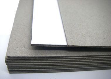 China Box 620gsm Packaging Material Un-coated Double Sided Grey Cardboard Sheets supplier